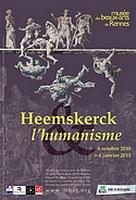 Affiche de l'exposition Heemskerck (c) Musée des Beaux-Arts de Rennes, 2010