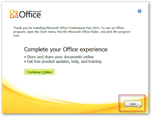 Actualizar Office 2003 a 2010 en XP