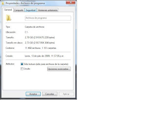 Cambiar permisos en carpetas y archivos en Windows 7