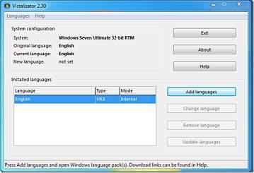 Cambiar el idioma de Windows 7 facilmente