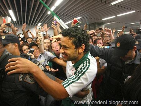 Rio de Janeiro, 21/04/2011, Fluminense / Desembarque