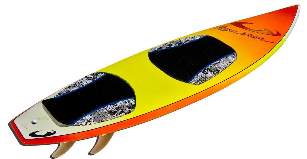 Ron's surfboard 5'8