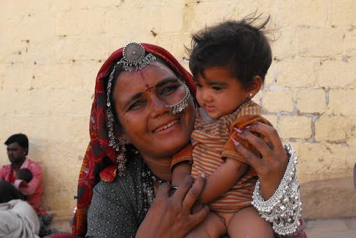jasmine y su mamá santosh