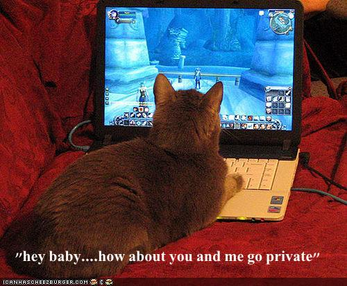 hey baby....how about you and me go private