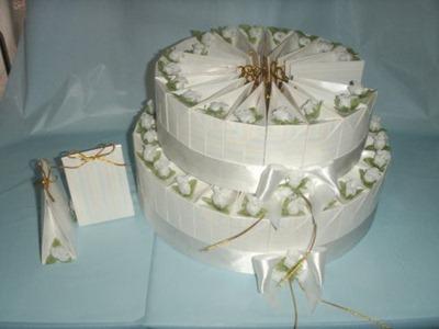 Wedding Favors Wedding Cake Display Favor Boxes For Jordan Almonds