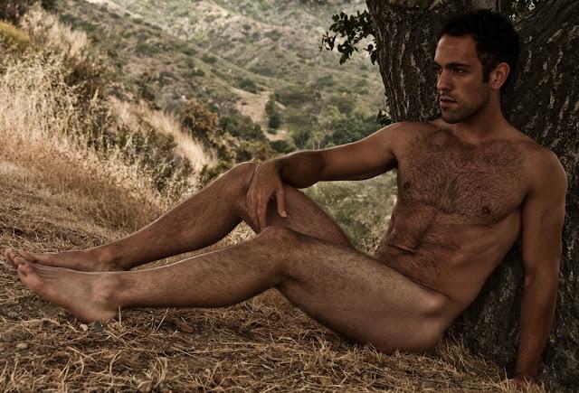 matthew steven herrick showing off his hairy chest