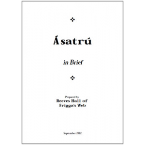 Asatru In Brief Cover