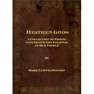 Heathen Gods A Collection Of Essays Cover