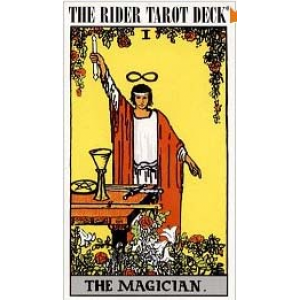 The Rider Waite Tarot Deck Cover