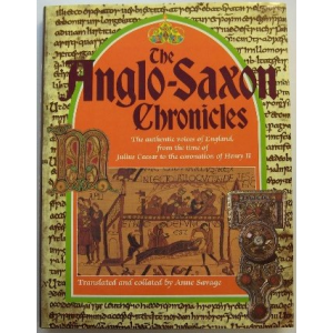 The Anglo Saxon Chronicle Cover
