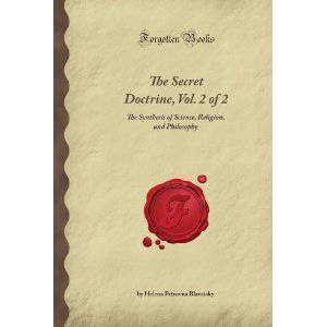 The Secret Doctrine Vol Ii Anthropogenesis Cover