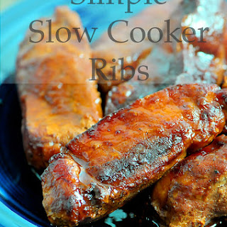 Simple Slow Cooker Ribs