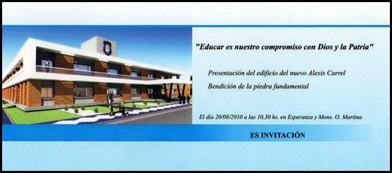 Invitación Nuevo edificio [50%]