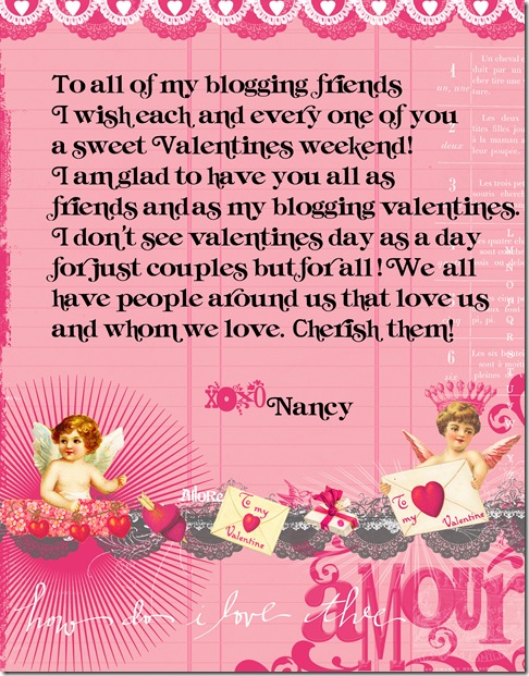 Valentine for blog