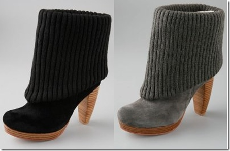Booties from Charlotte Ronson