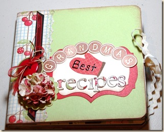 altered recipe book
