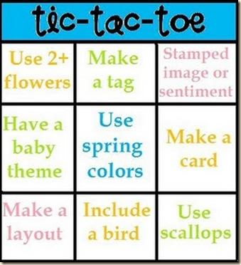 spring tic tac toe