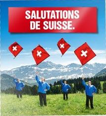 Salutations de Suisse