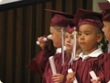 Matthew's Pre-K Graduation 029