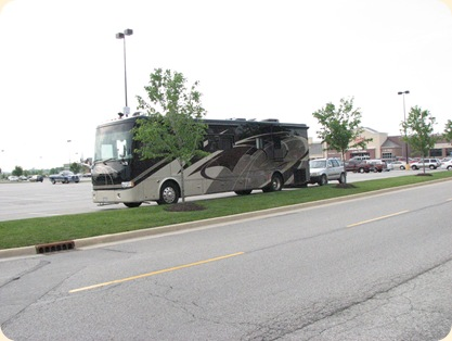 Bus in Walmart Lot 005