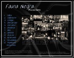 Back Fauna Negra