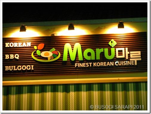 MARU (KOREAN)-SUNNYBANK© BUSOG! SARAP! 2011