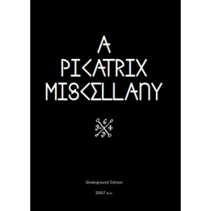 A Picatrix Miscellany Cover