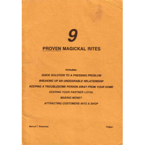 Nine Proven Magical Rites Cover