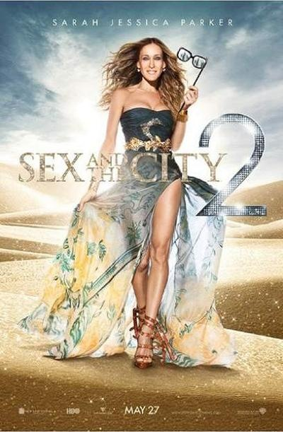 Sex and the City | SATC 2 | Movie | Sequel | New Poster | Sarah Jessica Parker | SJP
