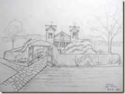 Santuario de Chimayo Sketch