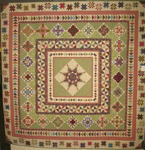 Quilt Show BOM Stars for a New Day