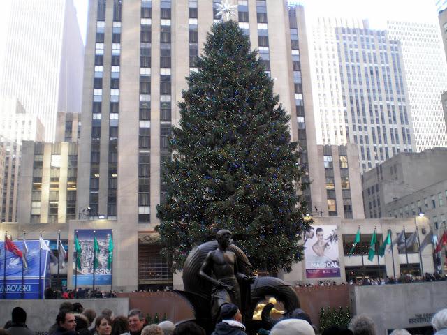 A árvore de natal mais famosa do mundo