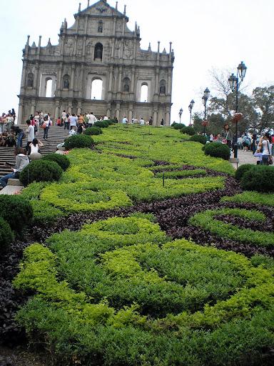 Macau, Ruinas de São Francisco