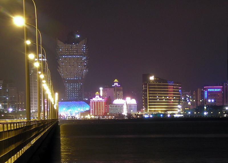 Macau, vista dede a Taipa