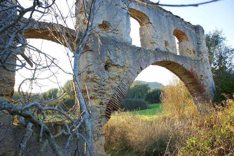 Ruinas da velha quinta