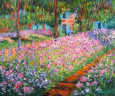 Artist s Garden at Giverny by Monet, Claude, France