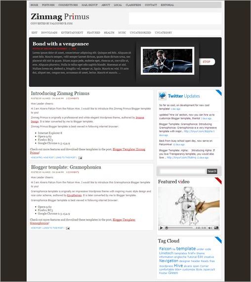Template cho Blogspot