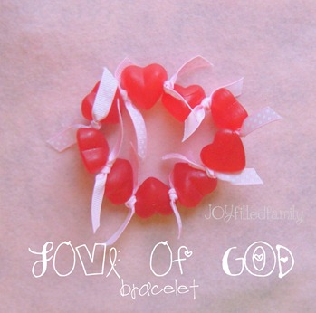 Love of God bracelet