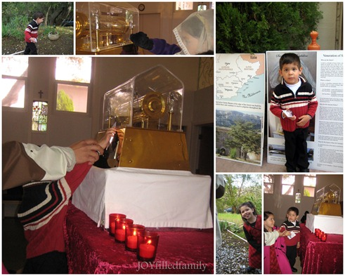 st mary magdalene relic visit