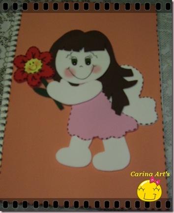 capa caderno menina