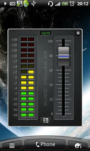 Music Volume EQ Screenshot