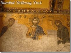 Mosaic Painting in Haghia Sophia