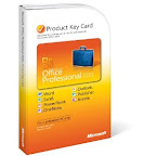 Microsoft Office Professional 2010 Product Key Card w/o CD (1 user)