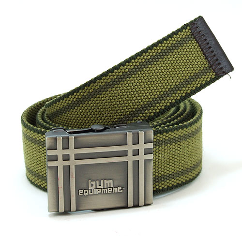 B.U.M. Equipment Canvas Belt - BUM7683 (Army Green)