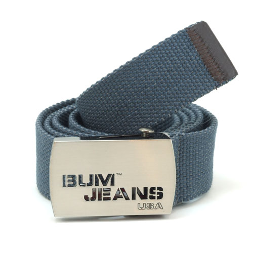 B.U.M. Equipment Canvas Belt - BEB037 (Blue)