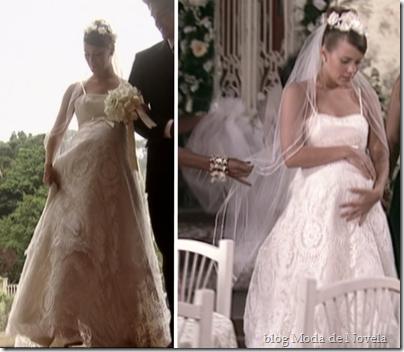 senhora do destino vestido de noiva isabel