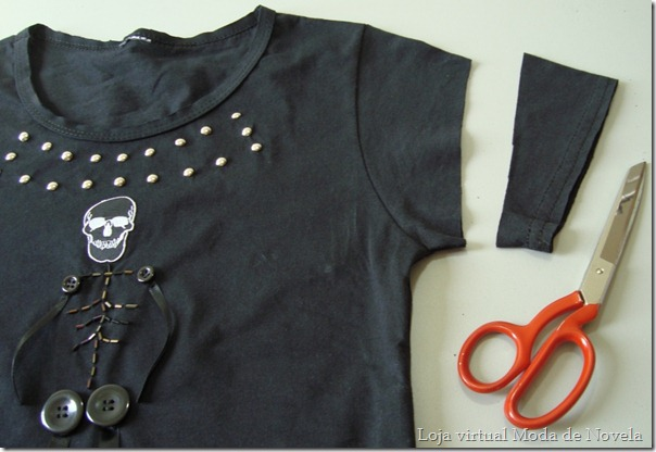 como customizar uma camiseta - rocker - 06
