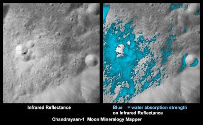 NASA agua na Lua