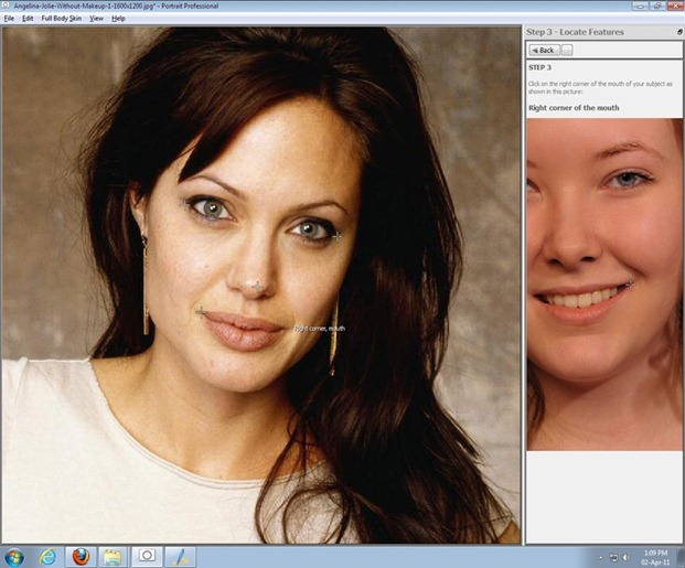 professional portrait retouching