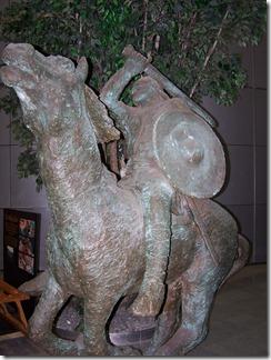 Warrior Horseback